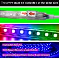 LED Strip, RGB LED Lichtband, Led Stripes 24 Tasten Fernbedienung Bluetooth Kontrolliert LED Streifen, GreenSun LED Lighting Lichterkette Wasserdicht IP65 Lampenband