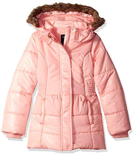 Nautica Baby Mädchen Jacke, Rosa, NAL0039Q Faux Leather Trim Jacket