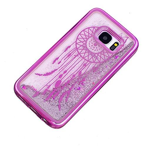 Vandot Etui Transparent Case pour Samsung Galaxy S7 Edge Coque de Protection en TPU Gel Invisible avec Absorption de Chocs Etui TPU Silicone Case Ultra Slim Thin Hull pour Samsung Galaxy S7 Edge Soupl Placage-10