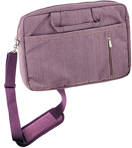 "Navitech Lila Fall/Abdeckung Trage Tasche Kompatibel Mit Dem HP EliteBook 1050 G1 15.6"" 4K UHD Laptop"