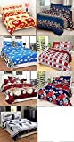 #9: Combo Glace Cotton King Size Double Bedsheet, Combo Set of 7 Bedsheet and 2 Pillow Each from Urban Home