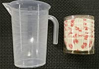 MASOOM MEASURING CUP 500 ML & PAPER CUP CAKE MOULD 150 PC.