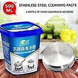 Il detergente per pentole in acciaio inossidabile aiuta a rimuovere le macchie Pentole e padelle polacche Crema detergente multiuso per metallo (blu) JBP-X