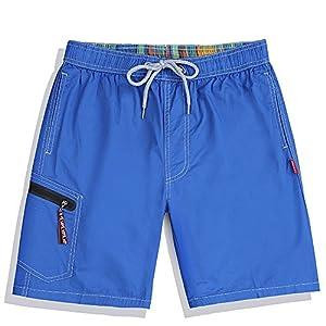Westtreg Männer Sommerkleidung Schnell Trocknend Strand Shorts Striped Swimwears Liebhaber Boardshorts Paare Surf Board Shorts