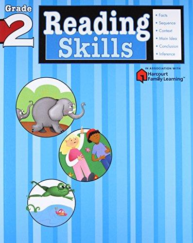 Reading Skills: Grade 2 (Harcourt Family Learning) por Flash Kids Editors
