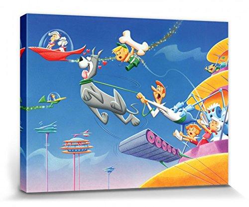 ons - Astro Poster Leinwandbild Auf Keilrahmen 80 x 60 cm ()