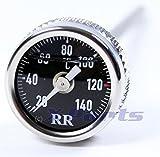 RR Öltemperatur Anzeige Ölthermometer HARLEY DAVIDSON Night Rod Special SCHWARZ