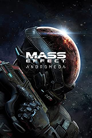 Gb Eye LTD, Mass Effect Andromeda, Key Art, Maxi Poster 61 x 91,5 cm