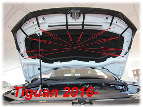 AB-00819 BONNET BRA for Tiguan since 2016 CAR BONNET BRA COVER PROTECTOR TUNING