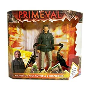 """Primeval - 5"""" Nick Cutter With 2 Hesperonis"""