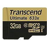 Transcend Carte Mémoire microSDXC 32 Go UHS-I U3 633x (Ultimate) TS32GUSDU3