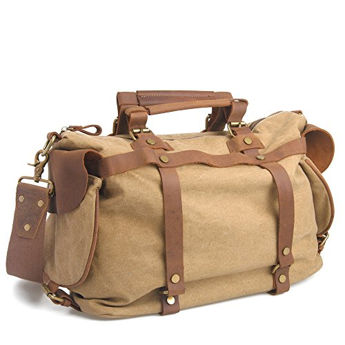 YNXing , Borsa Messenger , Brown (marrone) - ZPB-44-01 Brown
