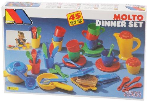 Molto 5752 Toy Dinner Set