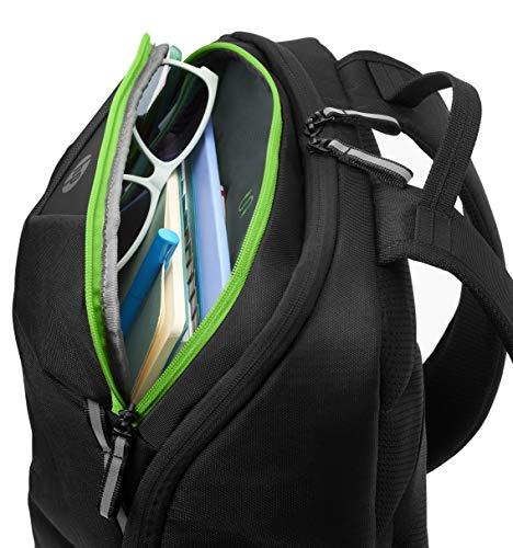 """HP Sac à dos Gaming Pavilion Gaming 400 Pour ordinateur portable jusqu'à 15,6"""" - Imperméable - Panneau arrière rembourré et Bretelles ergono... 11"""