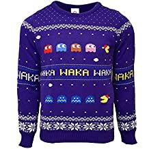 Rubberroad Pacman Xmas Pullover M IT - Not Machine Specific