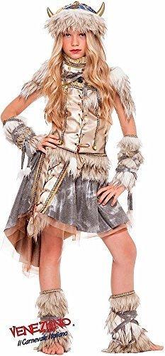 Fancy Me Italian Made Deluxe Prestige Sammlung Mädchen Wikinger Schule Buch Tag Woche Halloween Kostüm Kleid Outfit Alter 3-10 Jahre - 5 Years (5-yr Halloween-kostüme Alten Mädchen)