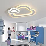 Kreative LED Deckenleuchte Personalisierte Kinder Deckenlampen Moderne Wolken Ultradünne Augenschutz Metal Acryl Lampenschirm Warme Licht Dekoration Zimmer Schlafzimmer Kindergarten Ø 45cm