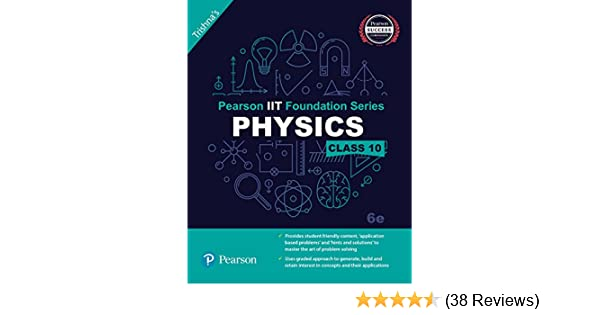 Pearson IIT Foundation Physics Class 10 (Old Edition