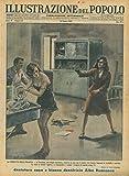 La vendetta della tradita. A Trondjem, una moglie ingannata, sorpreso in casa sua il marito con l'amica, impugno' la rivoltella e costrinse la rivale a lavarle i piatti e a rammendare i calzini.