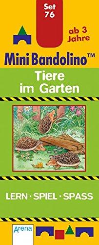 Tiere im Garten: Mini-Bandolino Set 76