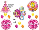 Tweety Bird Orbz & Personalisierte Geburtstag Party Luftballons Dekorationen Supplies