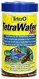 TetraWafer Mix (Hauptfutter in Waferform für alle Bodenfische und Krebse, ausgewogenes Premiumfutter mit Shrimps und Spirulina-Algen für verbessertes Immunsystem), 250 ml Dose