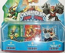 Skylanders Trap Team: Triple Pack - High Five / Trail Blazer / Full Blast Jet-Vac [Importación Inglesa]