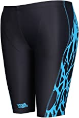 Viva Sports VSJ-004 Adult's Swimming Jammers (Black-Blue)