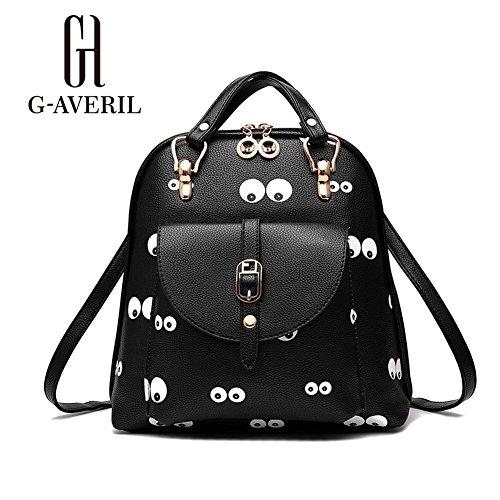 G-AVERIL GA1160-B2, Borsa a zainetto donna Black2 Black