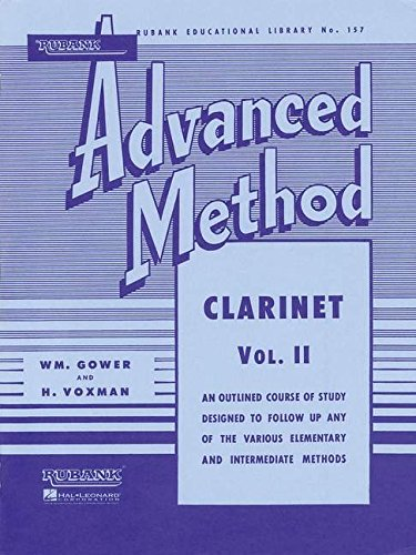 2: Rubank Advanced Method: Clarinet, Vol. II (Rubank Educational Library)