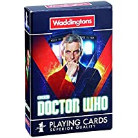 Doctor Who Waddingtons Number 1 Playing Cards