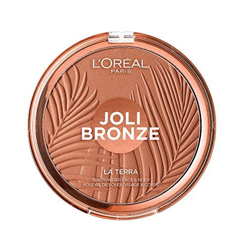 LOREAL GLAM BRONZE GROUND 01 maquillaje 18g