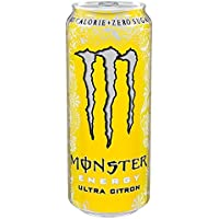 Monster Ultra 500ml Citron (Pack de 12 x 500 ml)