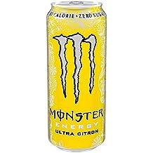 Monster Ultra 500ml Citron (Pack de 12 x 500 ml)