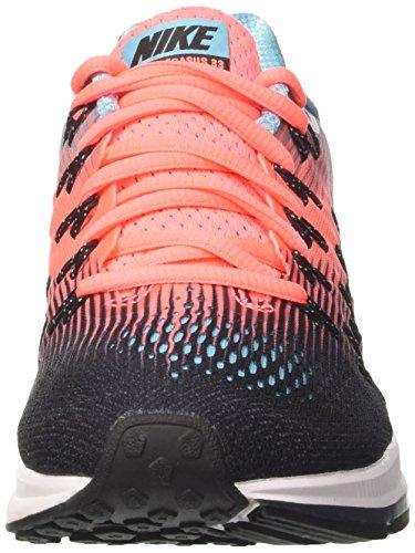 Nike Wmns Air Zoom Pegasus 33, Entraînement de course femme Multicolore (Black/white/lava Glow/polarized Blue/anthracite)