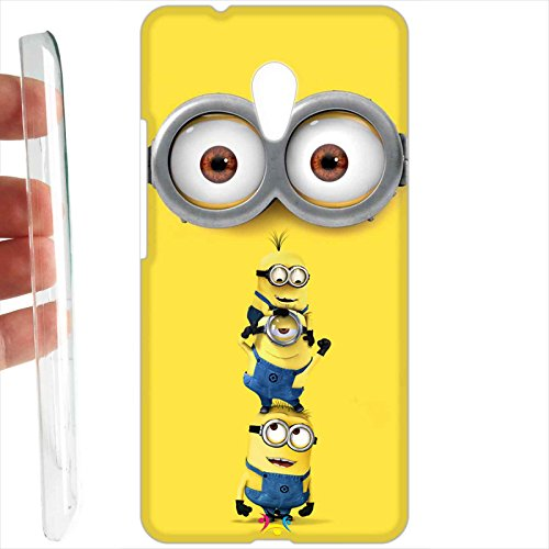 Custodia cover RIGIDA per Meizu M5s - 062 minion