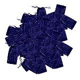 F Fityle 100pcs Einweg Tanga für Männer in Blau, Einzeln versiegelt, atmungsaktiv, mit Elastik - Für Haarentfernung, ästhetische Behandlungen, Massage - Blau