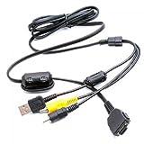 Generic-3.7ft-USB-AV-Cable-for-Sony-Cybershot-DSC-W100