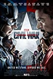 CAPTAIN AMERICA 3 : CIVIL WAR - US Imported Movie Wall Poster Print - 30CM X 43CM Brand New