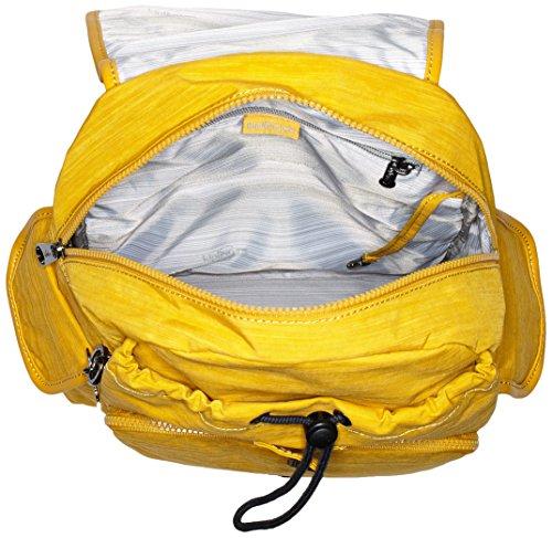 Kipling Damen City Pack Rucksackhandtasche, 32 x 37 x 18.5 cm Gelb (Dazz Corn)
