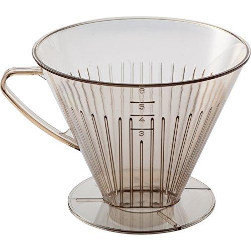 Westmark Kaffeefilter/Filterhalter, Für bis zu 6 Tassen Kaffee, Filtergröße 6, Kunststoff,...
