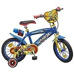 """51szpYpgiFL. SS150 Toimsa - Bicicletta per Bambini dai 4 ai 7 Anni, 14"""", Motivo: Topolino"""