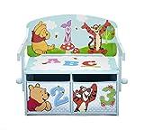 Winnie the Pooh Sitzbank & Schreibtisch mit Stauraum (Blau)