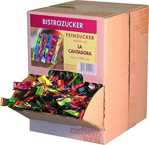 Der Bistrozucker Zuckersticks La.Can.600x4g