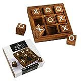 Roomando Tic Tac Toe Strategiespiel Brettspiel Lernspiel Reisegröße Gesellschaftsspiel