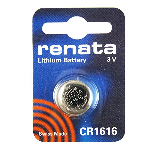 2 x Batterie Montre Renata poignet - Fabriqué en Suisse - Sans Piles oxyde d'argent 0% Mercure Renata Pile bouton 1,55 V piles longue durée