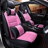 Die besten Ledersitzbezüge - Car Seat Cushion Autositzbezüge, PU Classic Ledersitzbezüge 5 Bewertungen