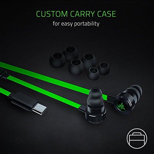 Razer Hammerhead USB-C Gaming In-Ear Kopfhörer (mit USB-C Anschluss, geeignet für das Razer Phone) grün - 7
