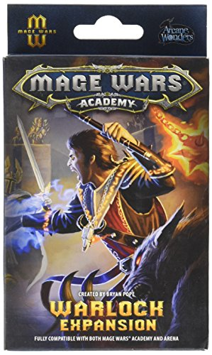 Preisvergleich Produktbild Arcane Wonders ARWX02WK - Brettspiel Mage Wars: The Warlock