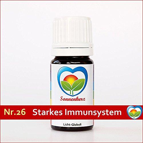 Sonnenglobuli Nr. 26 Starkes Immunsystem von Sonnenherz - informierte energetische Lichtglobuli
